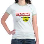Dalmatian Gifts Jr. Ringer T-Shirt