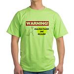 Dalmatian Gifts Green T-Shirt