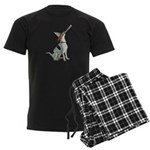 English Foxhound Gifts Men's Dark Pajamas