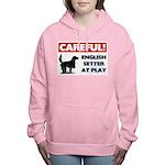 English Setter Women's Hooded Sweatshirt