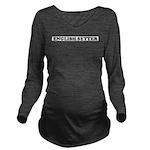 English Setter Long Sleeve Maternity T-Shirt