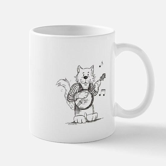 CatoonsT Banjo Cat Mug