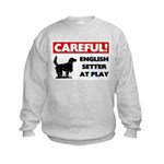 English Setter Kids Sweatshirt
