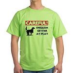 English Setter Green T-Shirt