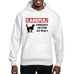 English Setter Hooded Sweatshirt