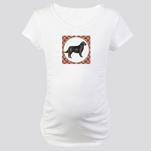 Flat-Coated Retriever Maternity T-Shirt