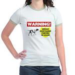 German Shorthaired Pointer Jr. Ringer T-Shirt