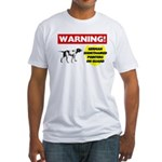 German Shorthaired Pointer Fitted T-Shirt