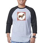 Glen Of Imaal Terrier Mens Baseball Tee
