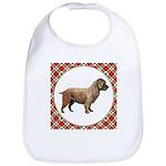 Glen Of Imaal Terrier Cotton Baby Bib