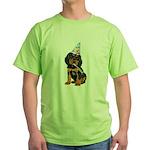 Gordon Setter Green T-Shirt