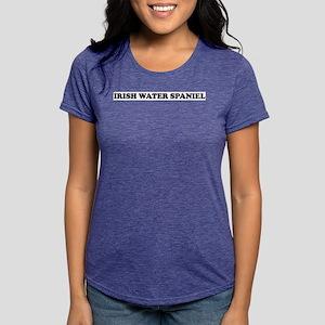 Irish Water Spaniel Gifts Womens Tri-blend T-Shirt