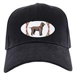 Irish Water Spaniel Gifts Black Cap with Patch