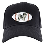 Japanese Chin Black Cap with Patch
