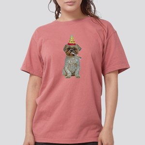 Lhasa Apso Gifts Womens Comfort Colors® Shirt