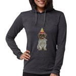 Lhasa Apso Gifts Womens Hooded Shirt