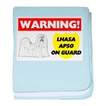 Lhasa Apso Gifts baby blanket