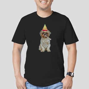 Lhasa Apso Gifts Men's Fitted T-Shirt (dark)