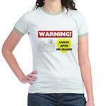 Lhasa Apso Gifts Jr. Ringer T-Shirt