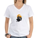 Theme Party Queen Women's V-Neck T-Shirt