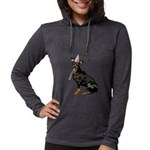 Manchester Terrier Womens Hooded Shirt