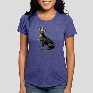 Manchester Terrier Womens Tri-blend T-Shirt