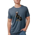 Manchester Terrier Mens Tri-blend T-Shirt