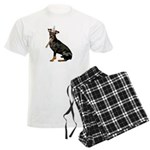 Manchester Terrier Men's Light Pajamas