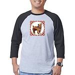 Norfolk Terrier Mens Baseball Tee