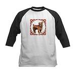 Norfolk Terrier Kids Baseball Tee
