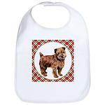 Norfolk Terrier Cotton Baby Bib