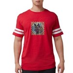 Norwegian Elkhound Mens Football Shirt
