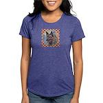 Norwegian Elkhound Womens Tri-blend T-Shirt