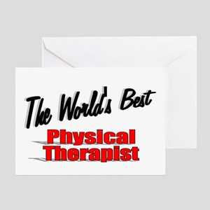"""The World's Best Physical Therapist"" Greeting Car"