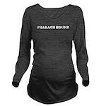 Pharaoh Hound Long Sleeve Maternity T-Shirt