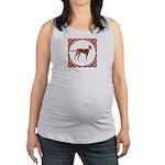 Pharaoh Hound Maternity Tank Top