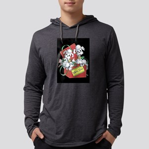 Poodle Mens Hooded Shirt