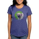 Puggle Womens Tri-blend T-Shirt