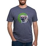 Puggle Mens Tri-blend T-Shirt