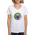 Puggle Women's V-Neck T-Shirt