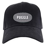 Puggle Black Cap with Patch