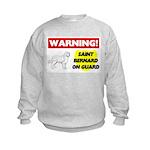 Saint Bernard Gifts Kids Sweatshirt