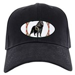 Schipperke Black Cap with Patch