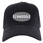 Schnoodle Gifts Black Cap with Patch