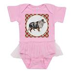 Shetland Sheepdog Baby Tutu Bodysuit