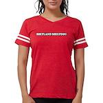 Shetland Sheepdog Womens Football Shirt