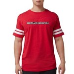 Shetland Sheepdog Mens Football Shirt