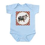 Shetland Sheepdog Baby Light Bodysuit