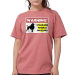 Standard Poodle T-Shirts Womens Comfort Colors&#17