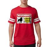 Standard Poodle T-Shirts Mens Football Shirt